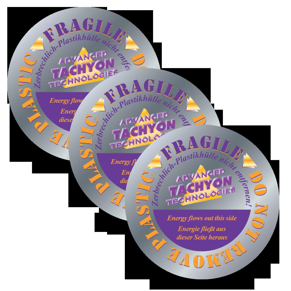 Tachyon Silica 6-inch Disks - 3 pak