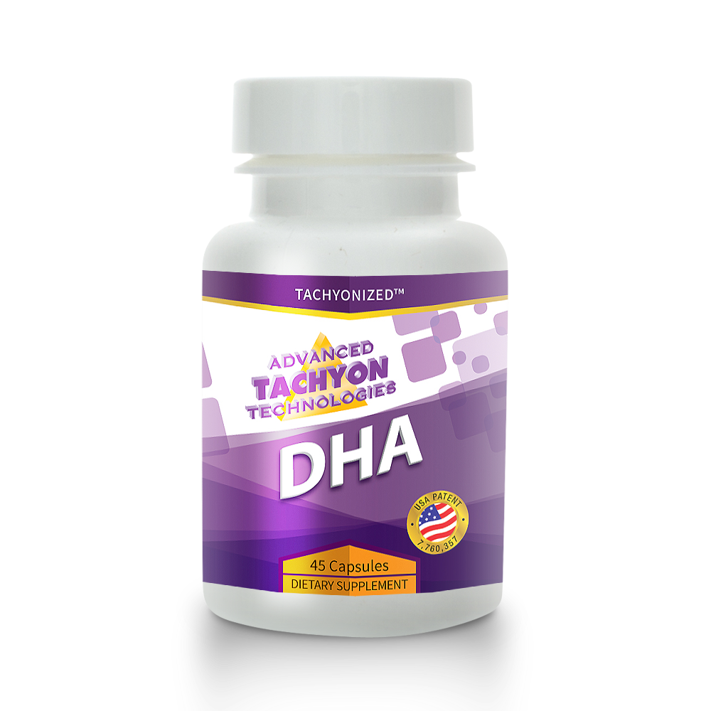 Tachyonized DHA - Everyone Should Use This Brain Food