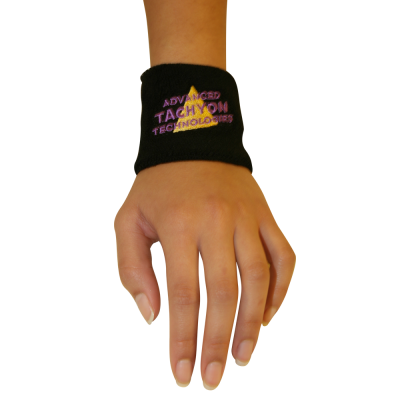 Deluxe Wristbands - Thick and Powerful Black