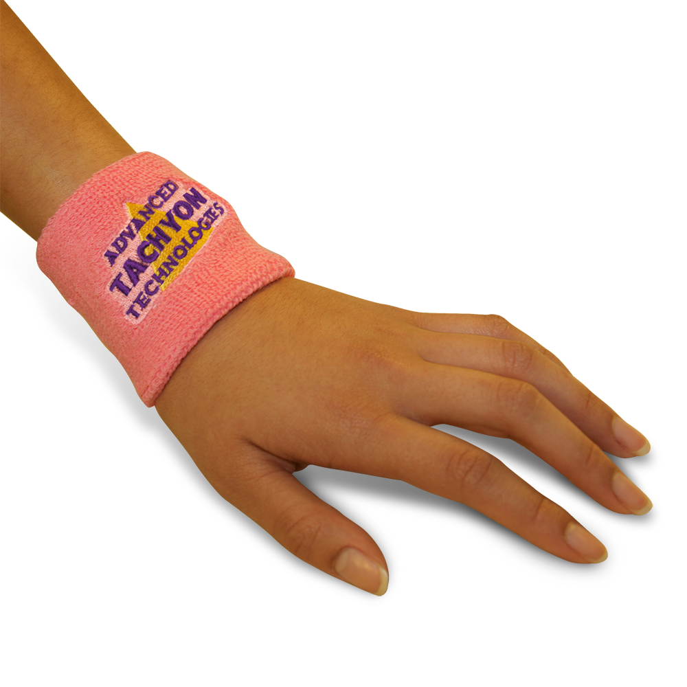 Deluxe Wristbands - Thick and Powerful Pink