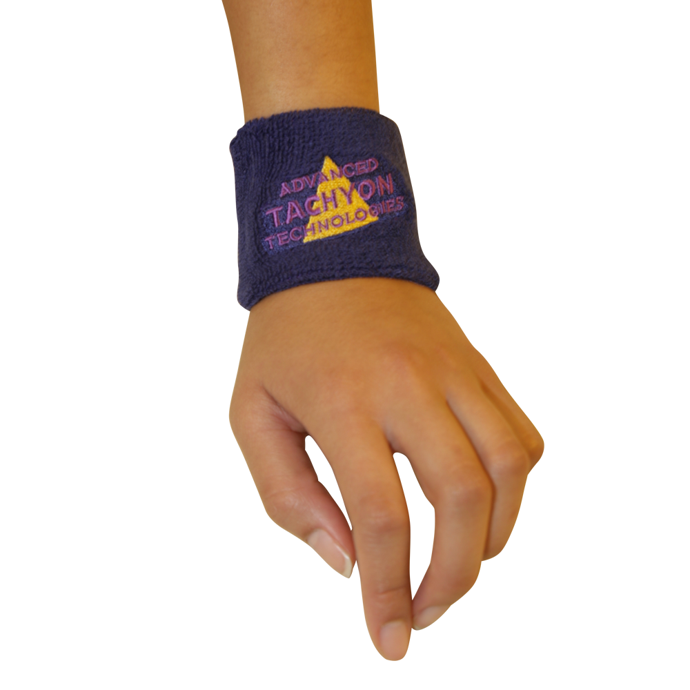 Deluxe Wristbands - Thick and Powerful Purple
