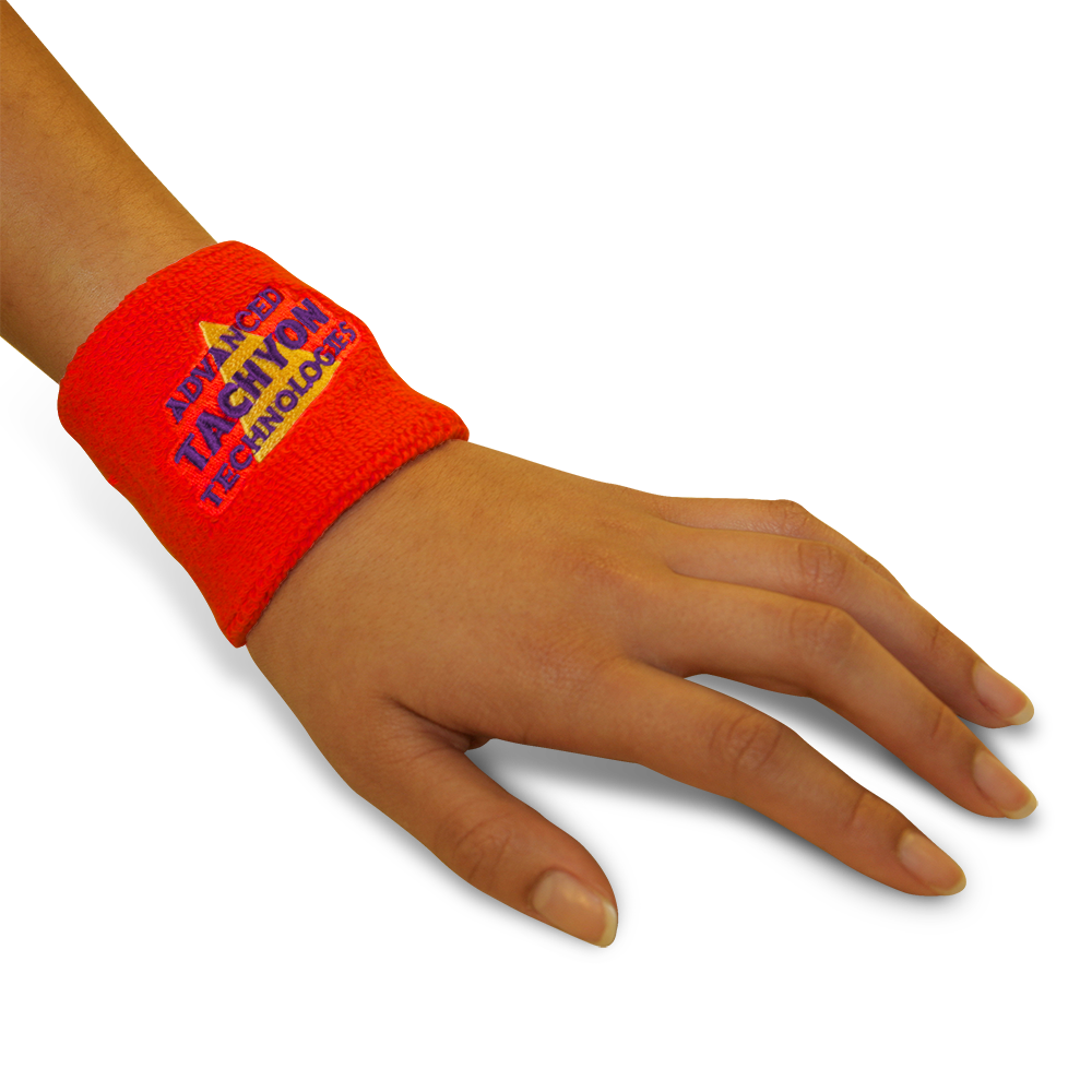 Deluxe Wristbands - Thick and Powerful Red