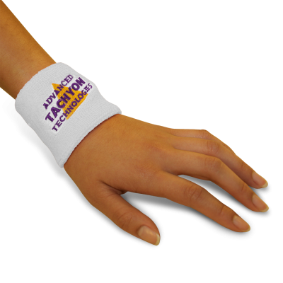 Deluxe Wristbands - Thick and Powerful - White