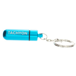 EMF Pocket Protector - Life-Capsule™ Key Ring - Aqua