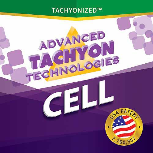 Tachyonized 8mm Opal Cells 6-Pack Label