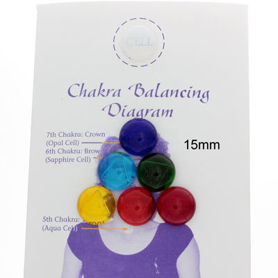 Tachyonized Chakra Balancing Kit - 15mm