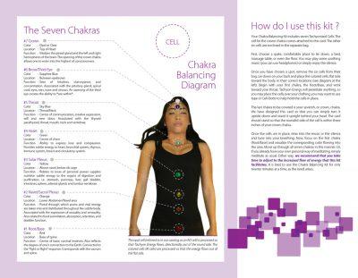 Tachyonized Chakra Balancing Kit - Directions 2