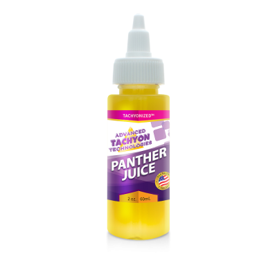 Tachyonized Panther Juice 2 oz. - Organic Top Seller