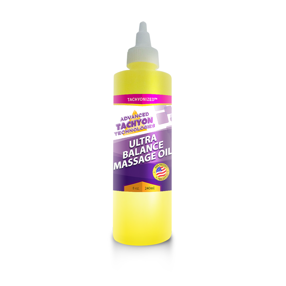 Tachyonized Ultra-Balance Massage Oil 8 oz.