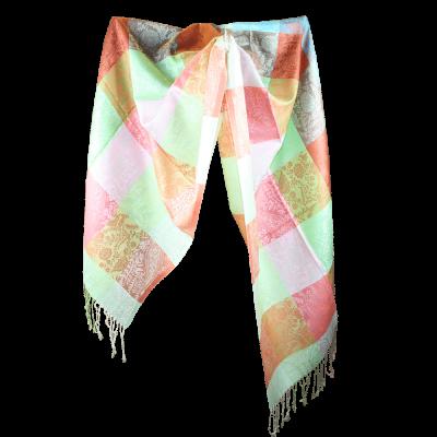 Silk and Pashmina - Meditation Wrap-TWM-P10
