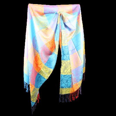 Silk and Pashmina - Meditation Wrap-TWM-P14