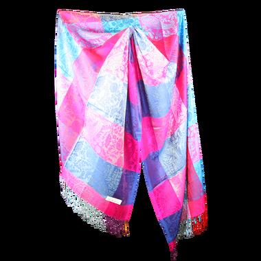 Silk and Pashmina - Meditation Wrap-TWM-P3