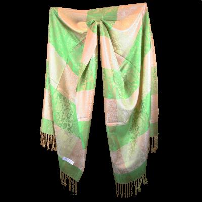 Silk and Pashmina - Meditation Wrap-TWM-P4