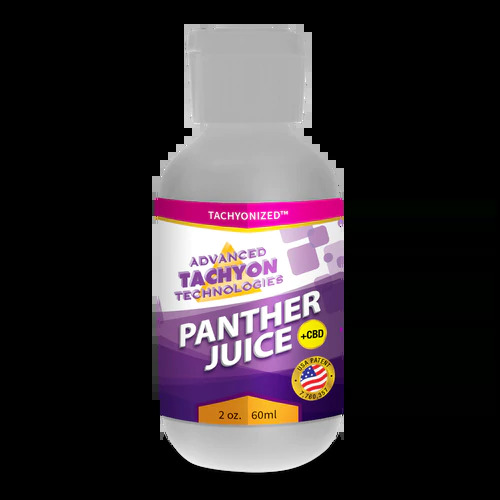 Tachyonized Panther Juice with CBD